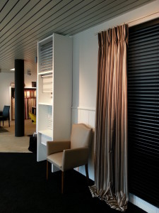 vernieuwde showroom met alle modellen zonwering