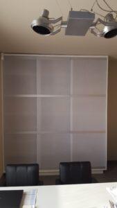 Verschuifbare W&W panelen als kastdeuren