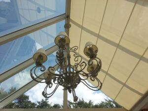 dakscreen voor orangerie