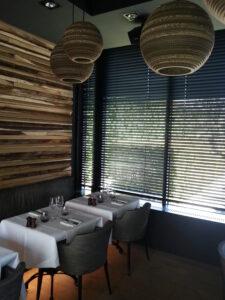 zwarte flexen restaurant Den Heerd Brugge